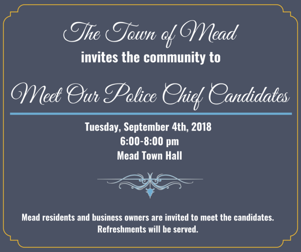 Meet Our Police Chief Candidates